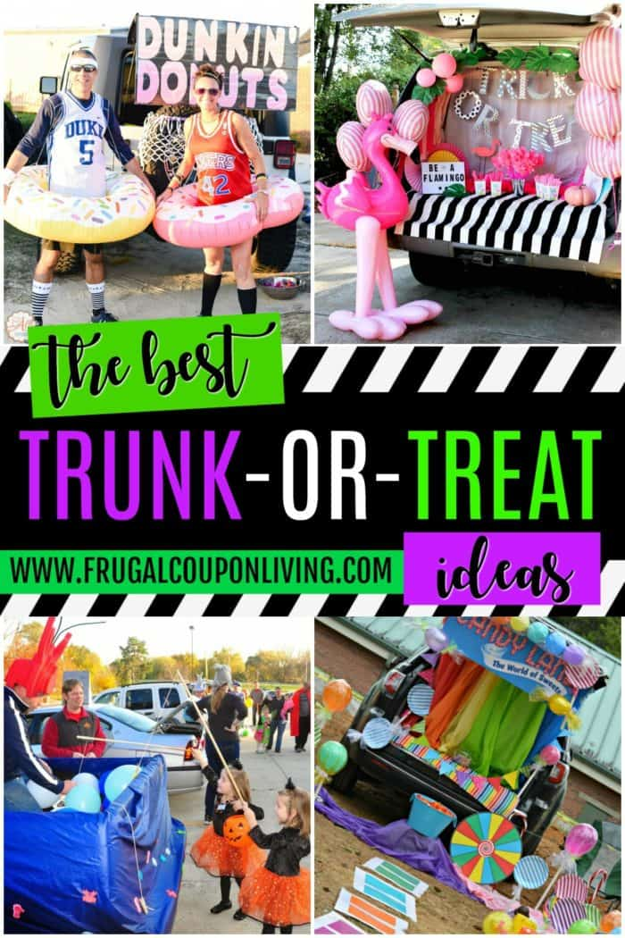 Kid Friendly Trunk Or Treat Ideas For Cars Suvs Trucks And Vans