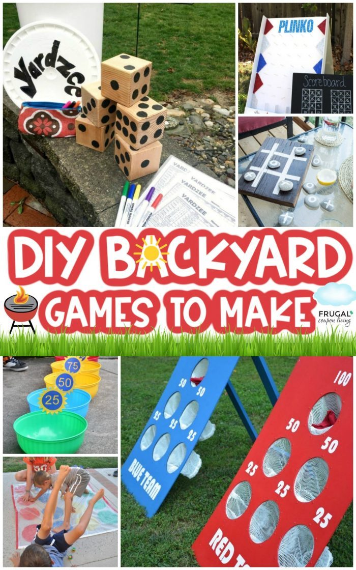 Outdoor Summer Diy Backyard Games For Kids And Adults