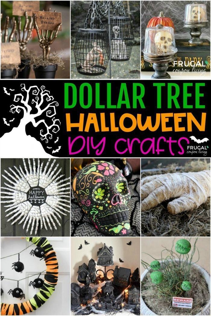 Dollar Tree Halloween Crafts